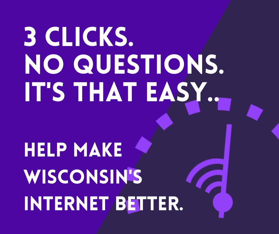 3 clicks. No questions. It's that simple.